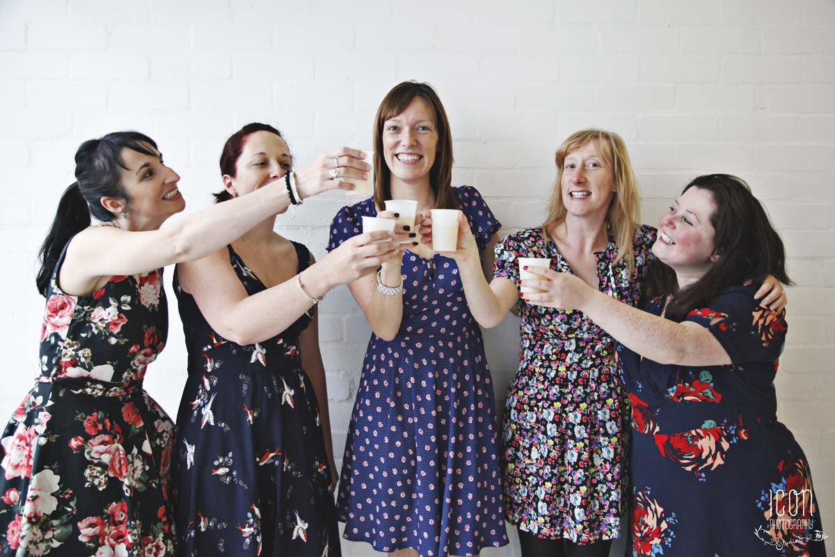 vintage wedding photographer Manchester Hen Do