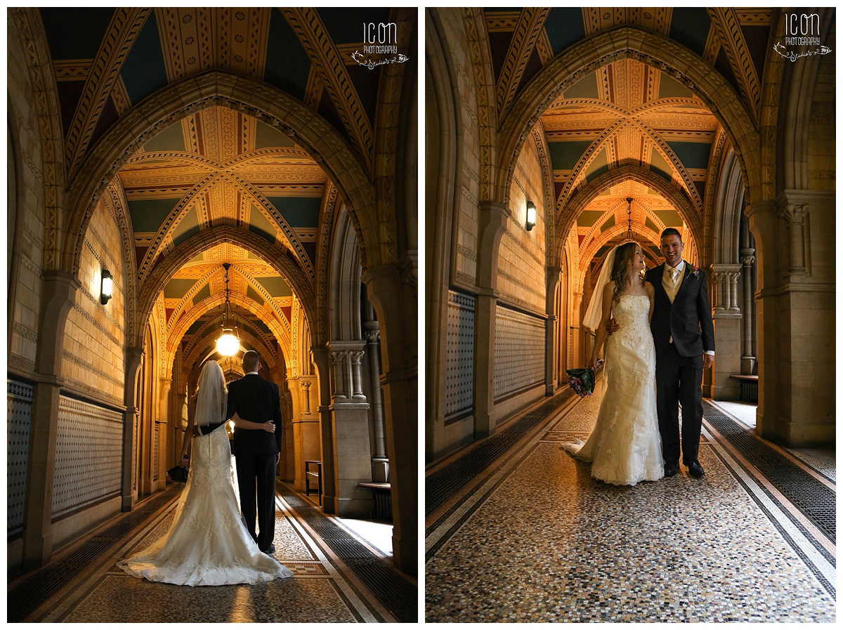 wedding photographer manchester Town Hall
