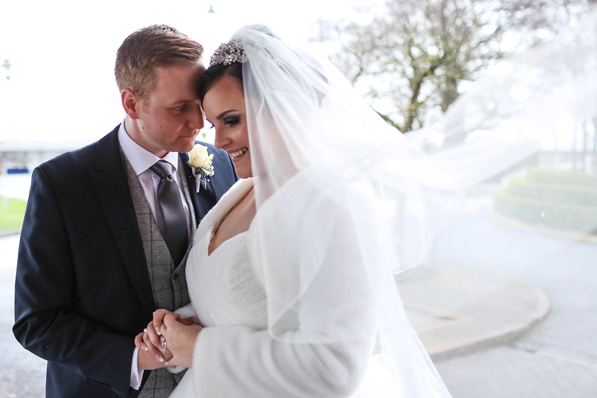 Intimate moment, Manchester and Cheshire Wedding Photographer, Cottons Hotel Wedding Photography