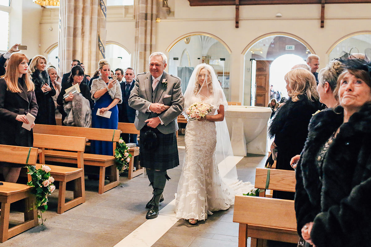 St Andrews Cathedral Wedding Photography Scotland and Glasgow Wedding Photographer