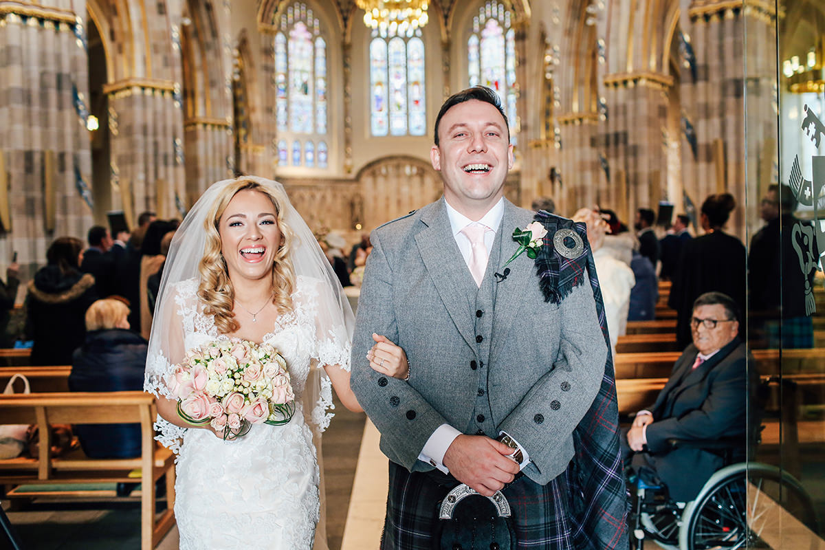 St Andrews Cathedral Wedding Photography Glasgow and Scotland Wedding Photographer