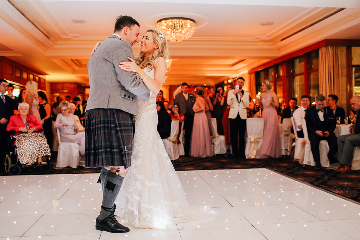 Wedding Photographer Troon Loch Green House Wedding Photography