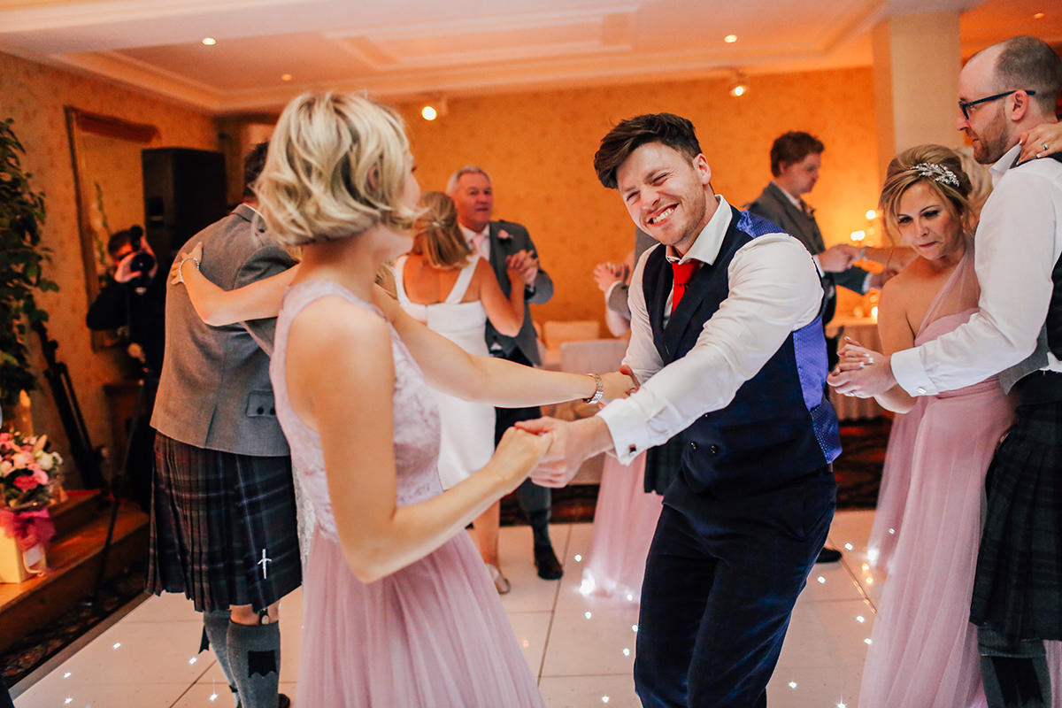 Fun and Relaxed Wedding Photography Loch Green House