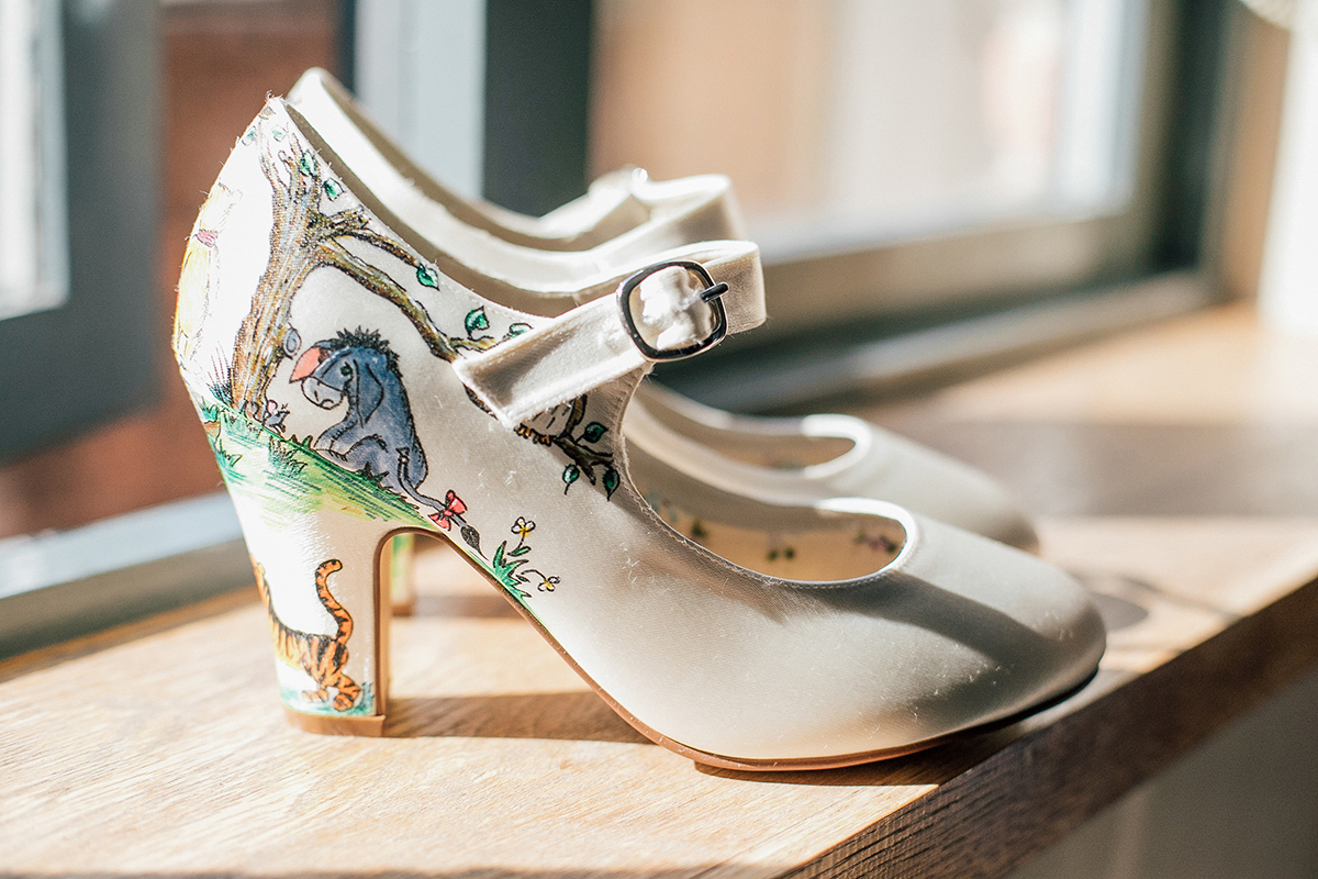 Wedding Shoes Alternative Wedding Photographer Manchester