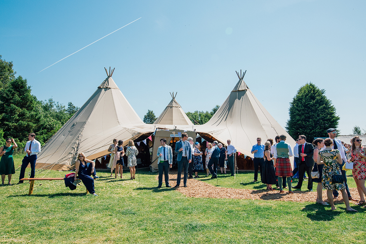 Alternative Farm Wedding Photography Liverpool and Manchester Tipi Wedding