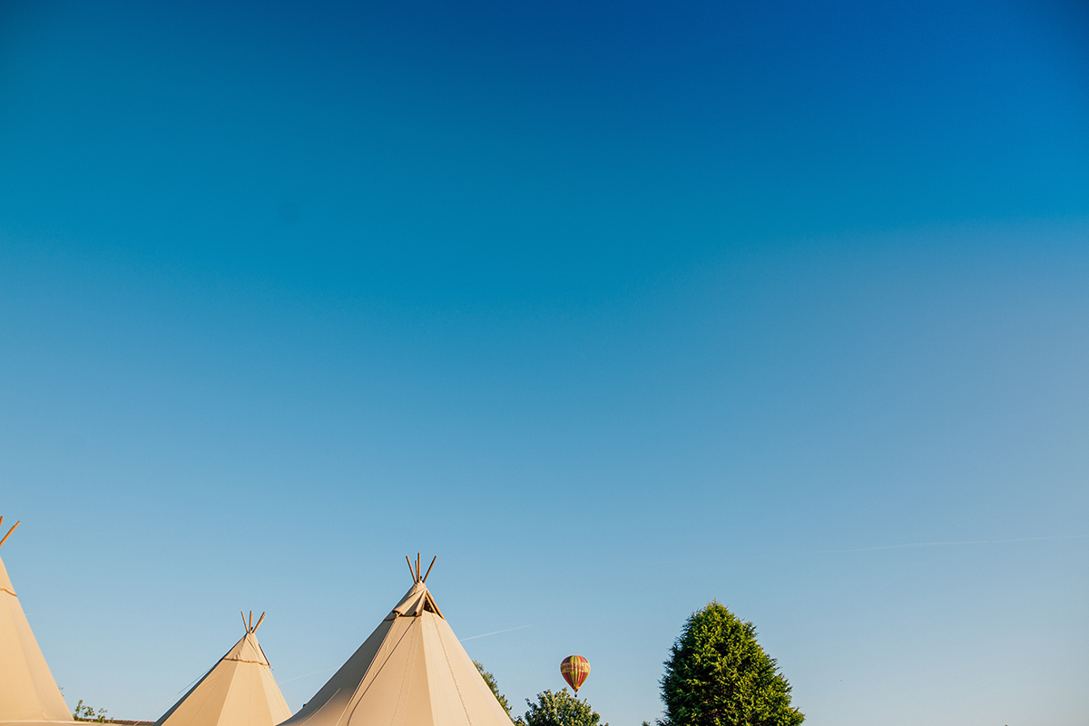 Tipi Alternative Wedding Liverpool