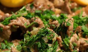 Veau en sauce aux asperges - sans gluten