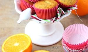 Muffins orange et pavot