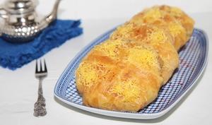 Pastilla au poulet et fruits de mer