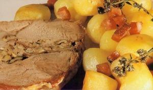 Roti de veau correzien