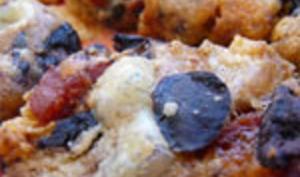 Sablés Chorizo Comté Olives