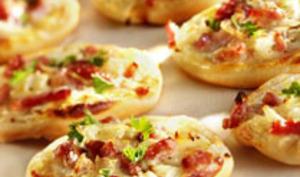 Mini Pizza flammekueches
