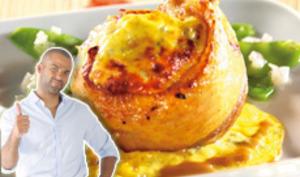 Tournedos de canard gratiné au gorgonzola de Tony Parker