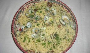 Spaghetti aux coques
