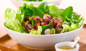 Salade de boeuf à la menthe fraîche