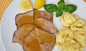 Escalopes de veau au citron (scaloppine al limone)