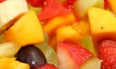 Brochettes de fruits exotiques