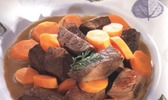 Boeuf braise aux carottes et au cumin