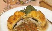 Chausson de ris de veau sous la mere aux truffes du causse