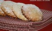 Biscuits sablés à la ricotta et à l'anis