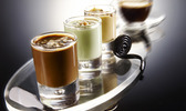 Café gourmand et mini crèmes brûlées en un instant