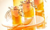 Espuma de crème brûlée et carotte