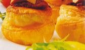 Feuilletés de tomate au foie gras de canard