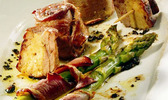 Mini tournedos d'aiguillettes au foie gras