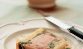 Presse de légumes au foie gras