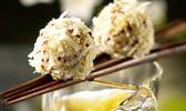 Bouchées de quinoa gourmand au jasmin et noix de coco