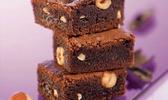 Brownie aux éclats de noisettes
