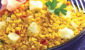 Risotto de céréales du soleil à la mozzarella de bufflone