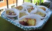 Mderbel, gâteau algérien à la confiture