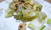 Poêlée de côtes de blettes, choux chinois et tempeh aux algues