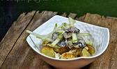 Huîtres marinées au cidre
