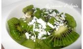 salade de kiwis au gingembre