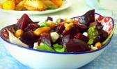 Salade de betterave au balsamique de Grenade