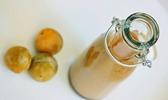 Smoothie de prunes à la lavande