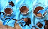 Une aiguille dans l' potage: crème dessert végétale au chocolat de marie chioca