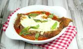 Escalope de veau à la «parmigiana»
