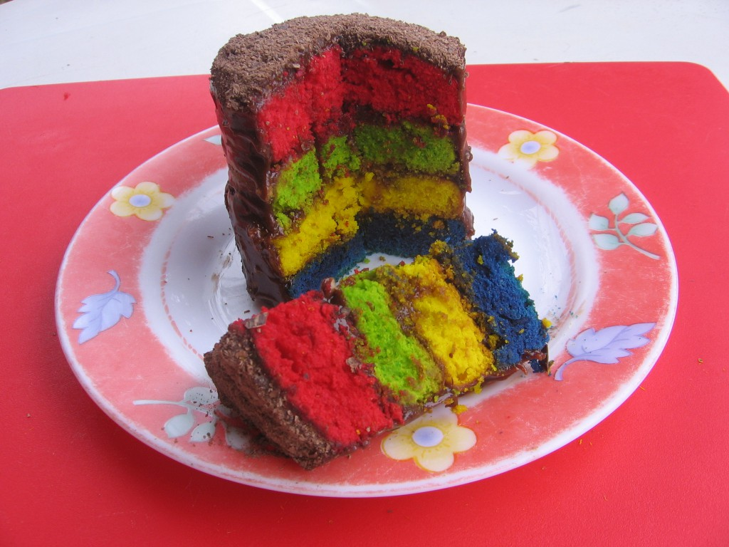 Recette Cake Design Rainbow : Recettes de rainbow cake