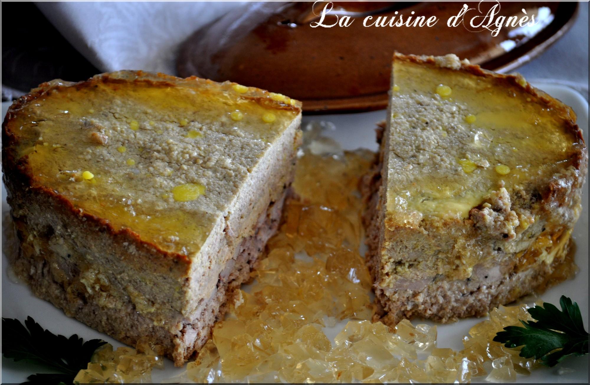 P t de faisan au foie gras une recette de gibier - Cuisiner du marcassin ...
