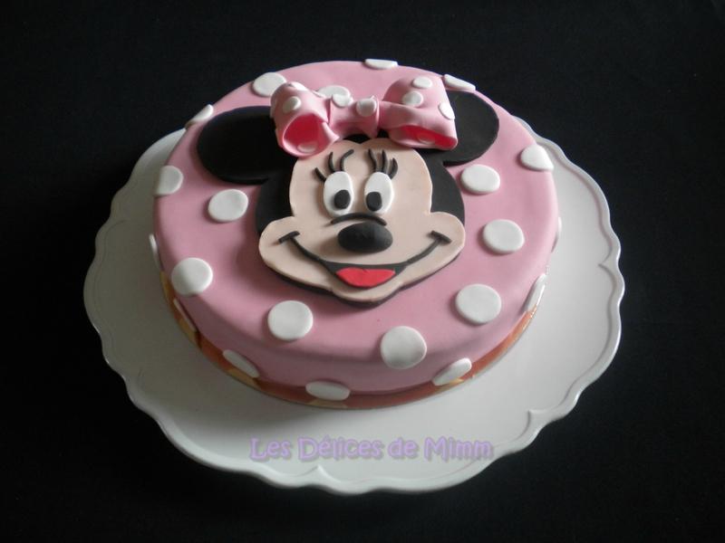 Recette De Garniture Cake Design : Recettes de cake design par Mimm : Gateau Minnie Mouse en ...