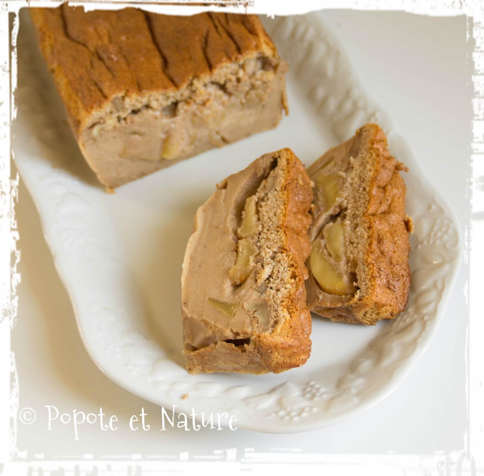 recettes de g teau magique par popote et nature g teau magique fa on pain d 39 pices avec pommes. Black Bedroom Furniture Sets. Home Design Ideas