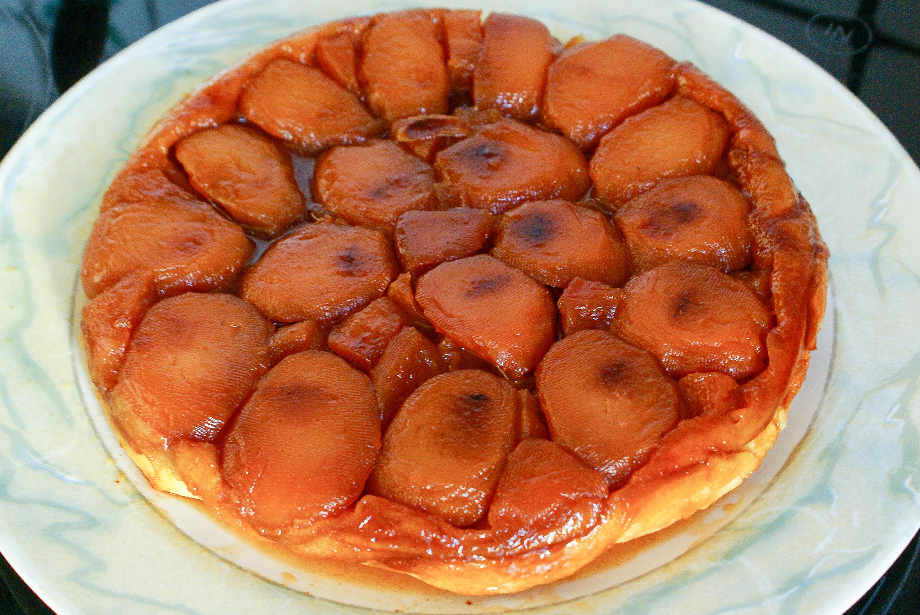 Tarte tatin recette de la tarte tatin tarte aux pommes - Comment couper des pommes pour une tarte ...