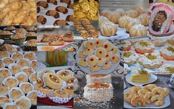 Recettes de mariage par Sarah  Gâteaux secs algériens pour laid 2015, Nid dabeille gateau algérien 2014, gâteaux pour laid el kebir.
