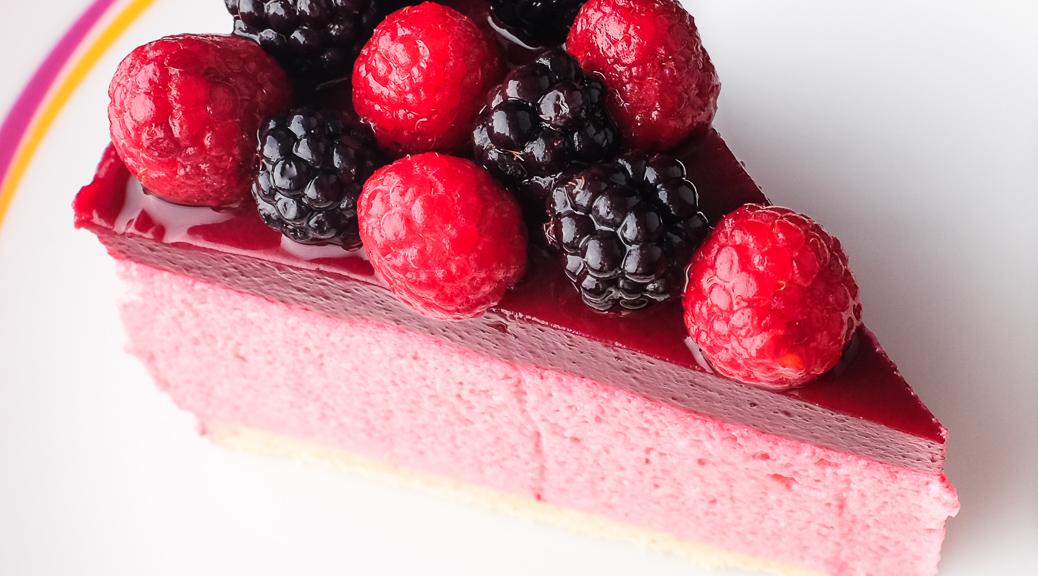 bavarois aux framboises nappage fruits rouges par dur 224 cuire