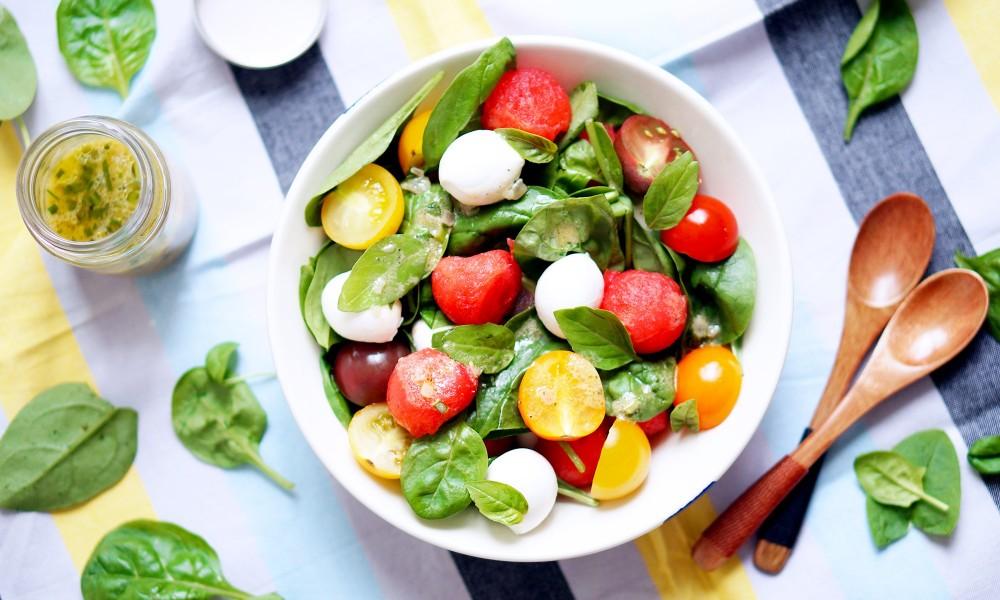 Salade de past que tomate cerise mozzarella et pousses d 39 pinard par pretty chef - Salade de pasteque ...