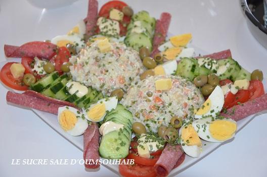 Salade De Riz Thon Mac Doine Par Sarah