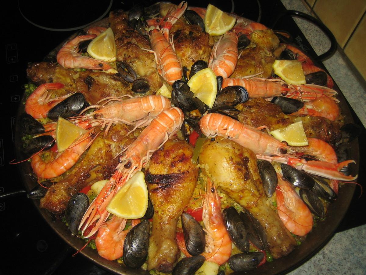 Recettes d 39 espagnole par paella royale - Une royale en cuisine ...